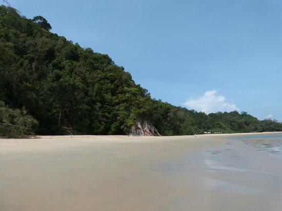 Club Med Cherating Beach: plage sud