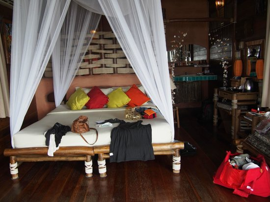 Koh Tao Cabana: The main room/bed room