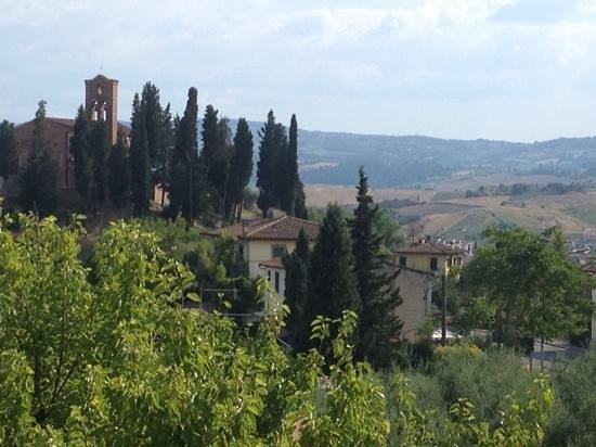 La Pieve Albergo Ristorante: View from bedroom