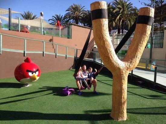 Angry Birds Activity Park Gran Canaria : Familjen