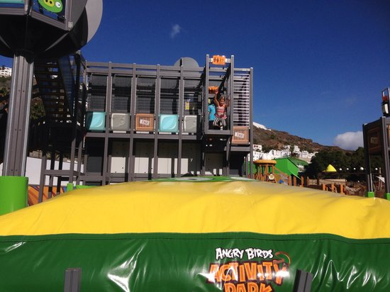 Angry Birds Activity Park Gran Canaria : Hopp