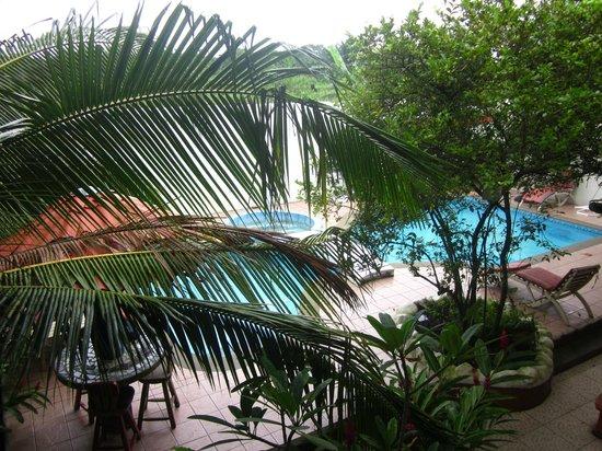Hotel Boutique Posada Las Iguanas: View from room