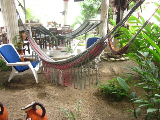 Hotel Boutique Posada Las Iguanas: BBQ area