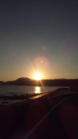 Inatori Ginsuiso : お部屋からの夕日