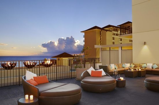 Evening at Waikiki Parc Hotel