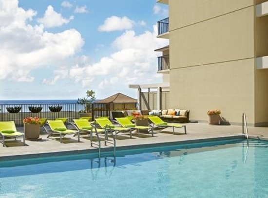Waikiki Parc Hotel: Parc Blue Pool Deck