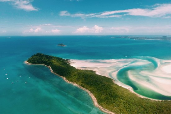 Hamilton Island Air: Whithaven by Helicopter