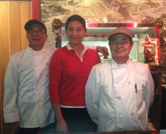 China Gourmet - Owner, Jade, and Chefs