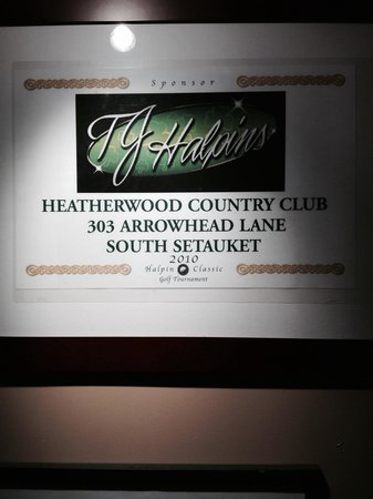 TJ Halpin's Restaurant: The Resturant at Heatherwood country club !