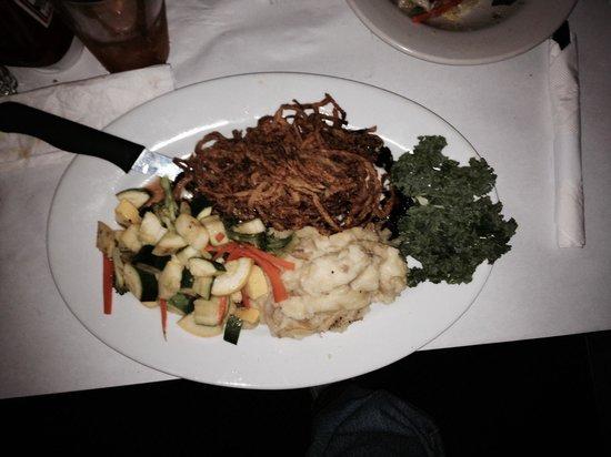 TJ Halpin's Restaurant: Another fine presentation ..