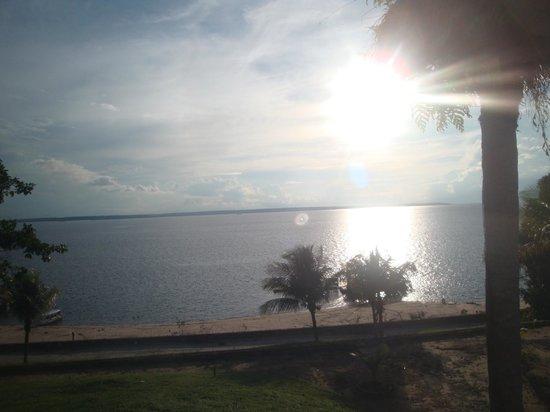 Tropical Manaus Ecoresort: vista do por do sol do hotel