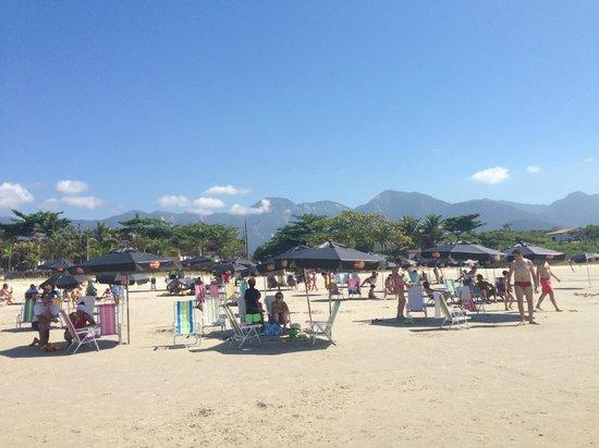Salvetti Praia Hotel: Praia