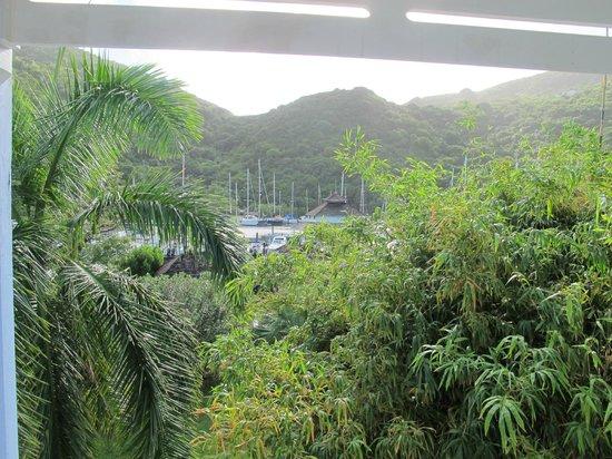 Hotel Riu Palace St Martin: Marina views from our balcony