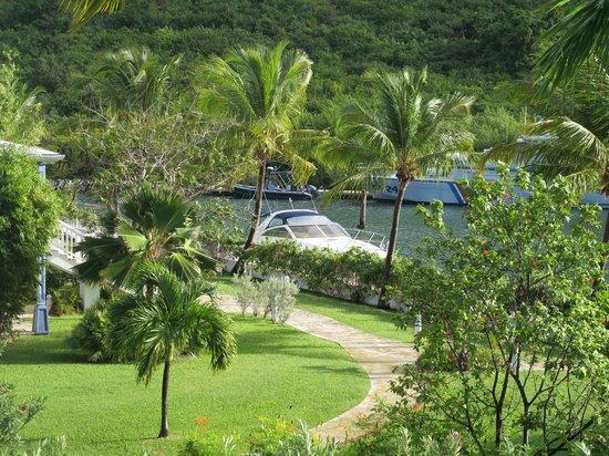Hotel Riu Palace St Martin: Marina views from the balcony of the room!