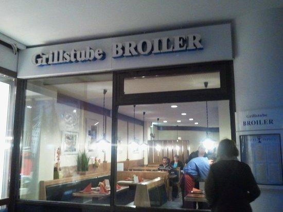 Grillstube BROILER: Eingang