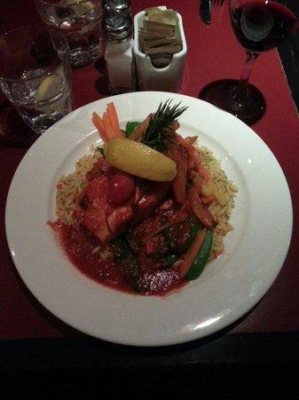Blackbird Cafe: Salmon Fresco - Delicious!