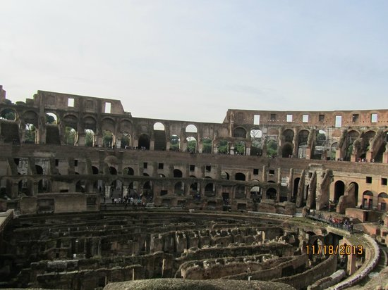 Angel Tours Rome : The Colliseum