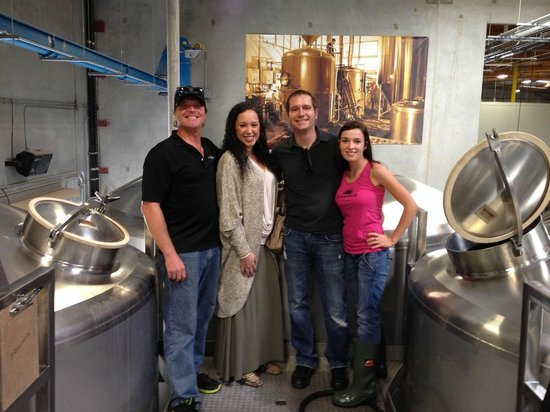 Green Flash Brewing Company: On the brewery tour!