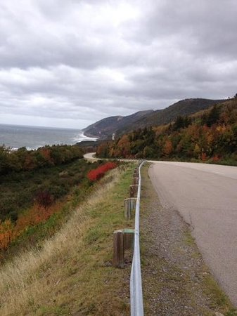 Cabot Trail : fall colors