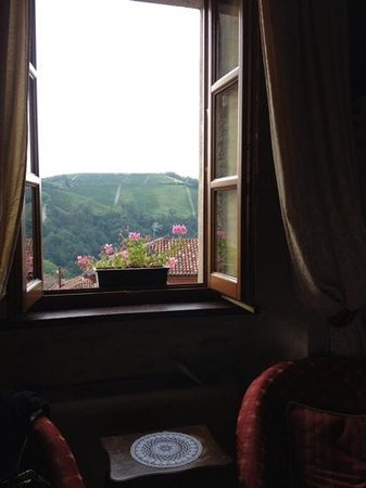 Hotel Castello di Sinio: Beautiful view from our room!