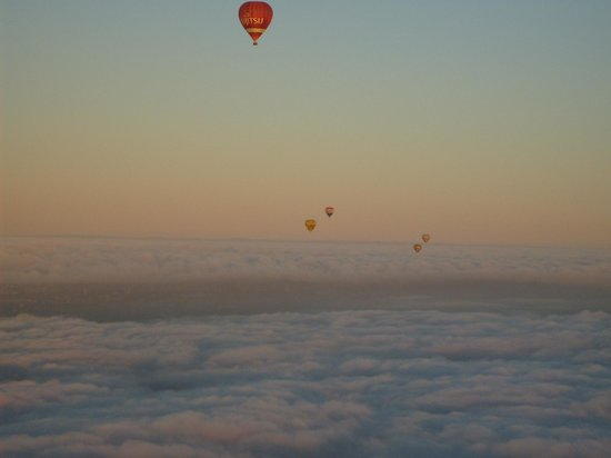 Picture This Ballooning - Melbourne and Yarra Valley: Serenity on cloud 9