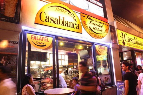 Casablanca Restaurant From The Street
