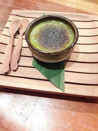 Rayjin: Matcha creme brulee, very delicious