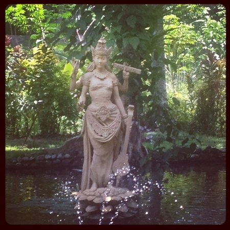 Jiwa Damai Organic Garden & Retreat: Goddess of Learning