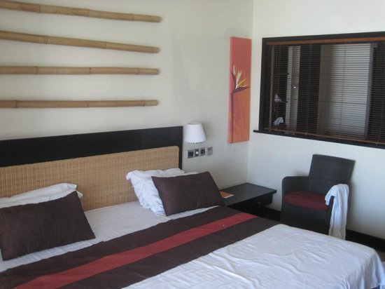 Pearle Beach Resort & Spa: Neatly maintained room