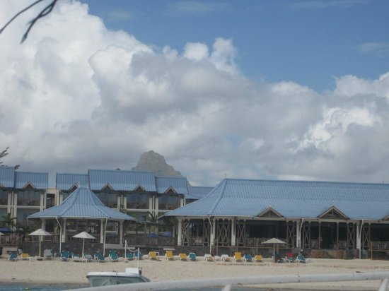 Pearle Beach Resort & Spa: View from the sea during Glass Boat Ride