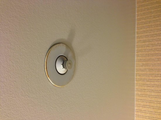 Sheraton Vancouver Wall Centre : Is it mold or rust?