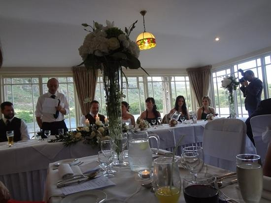 Gougane Barra Hotel: Dinning room for the Wedding reception.