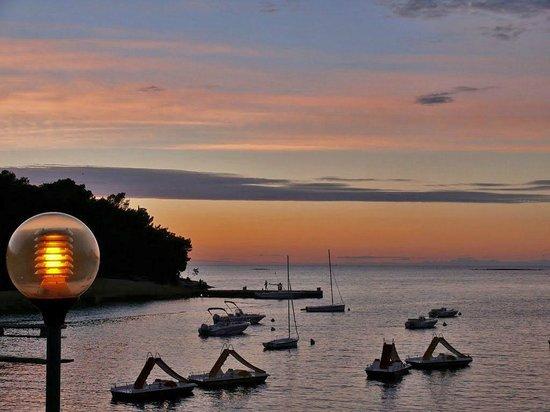 Hotel Plavi: Zelena Laguna - sunset - view from promenade