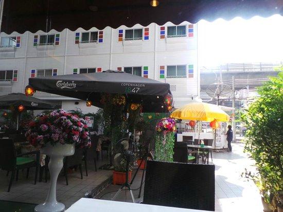 Pizzeria Luigi: beautiful courtyard