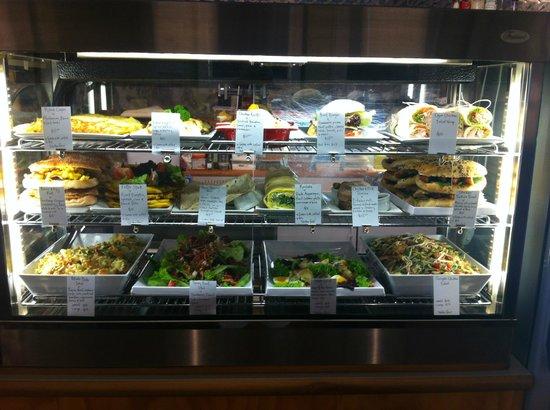 Ritual Espresso Cafe : Cabinet food selection