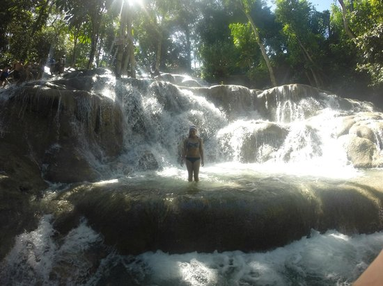 Dunn's River Falls and Park : Dunn's River Falls @DjSugarDaddy306