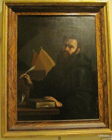 National Museum of Fine Arts: Italian Artist Mattia Preti - Portrait of St. Augustine of Hippo.