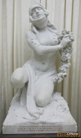 """National Museum of Fine Arts: Sculpture """"Leah, from Dante's 'Purgatorio'"""" by Eugenio Maccagnani"""