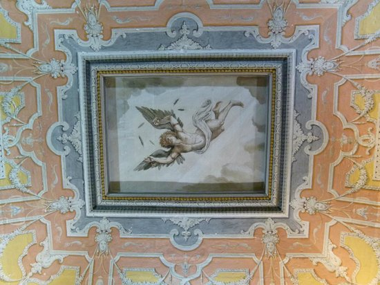 National Museum of Fine Arts: Another ceiling painting