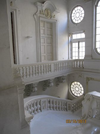 National Museum of Fine Arts: Architectural aspect of the Museum's interior