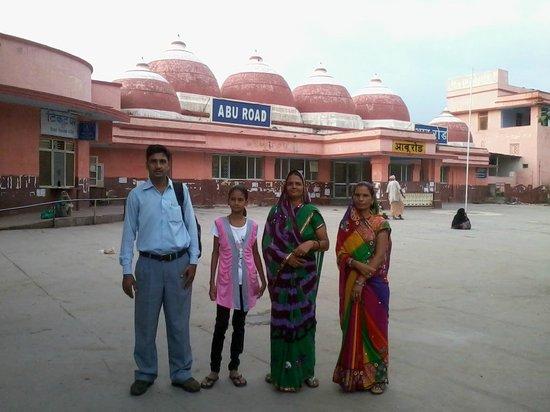 Mount Abu, India: Abu Road Station