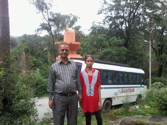 Mount Abu, India: Santivan, OM santi, abu