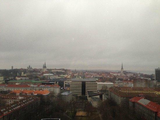 Radisson Blu Hotel Olumpia: Вид из окна