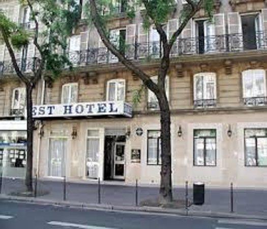 Est Hotel Paris: vedut esterna est hotel