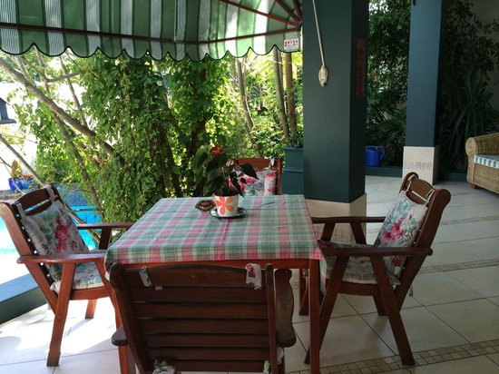 Edenwood Guest House: pool side