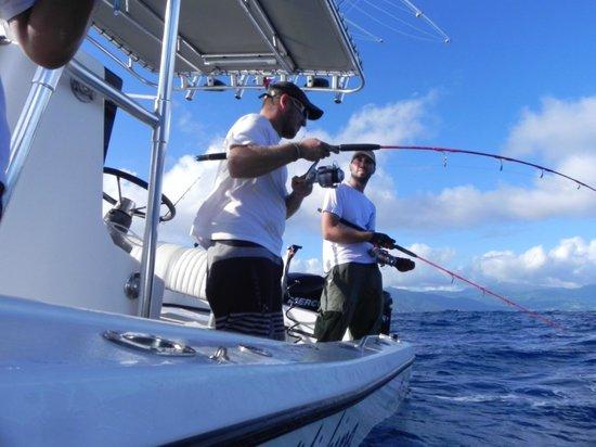 Madatet Fishing: même tous du meme, coté le bateau reste stable et bien droit
