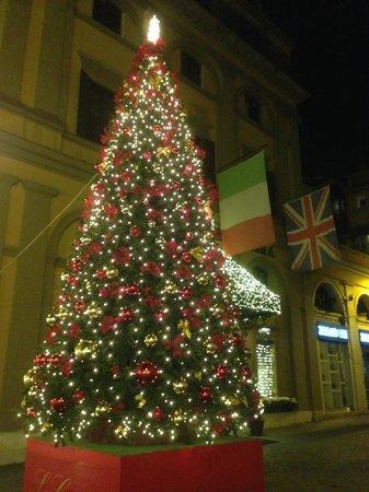 Eurostars Saint John Hotel: Christmas tree