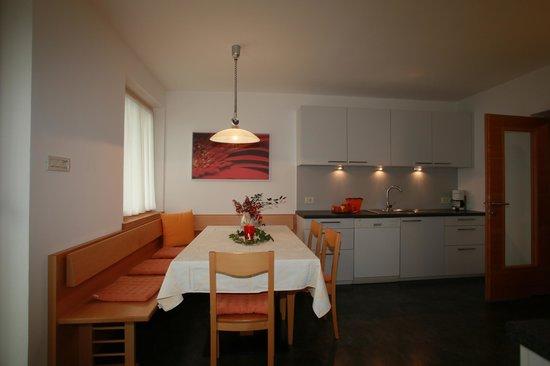 Ferienwohnungen Grazia-Dei: Cucina appartamento Sommermond