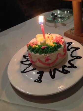 Carnivore Steak and Grill : Our Anniversary surprise from the owner. SO thoughtful!!