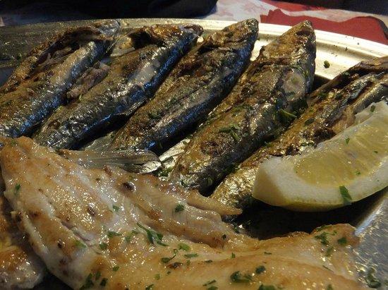 Ittiturismo Ristorante Mella : Fischplatte